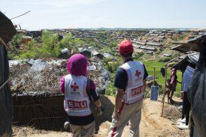 バングラデシュ避難民3(C)JRCS