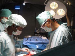 手術の様子
